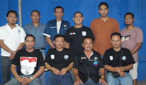 Agung, Oni, Bambang, Irham, Ronny, Eko,